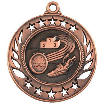 60mm Running Medal