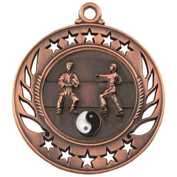 60mm Martial Arts Medal