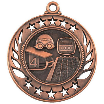 60mm Swimming Medal