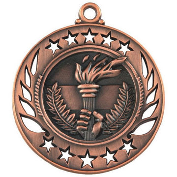 60mm Victory Torch Medal