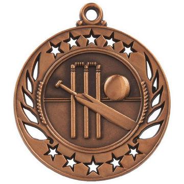60mm Cricket Medal