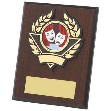 Budget Wood Plaque Award