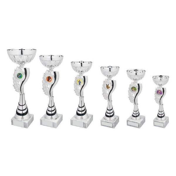 Silver/Black Wreath Cup Award