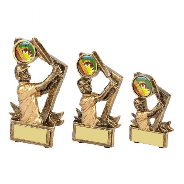 Gold Resin Cricket Batsman Award