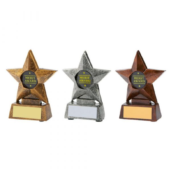 Mini Star Sports Awards - Gold, Silver or Bronze