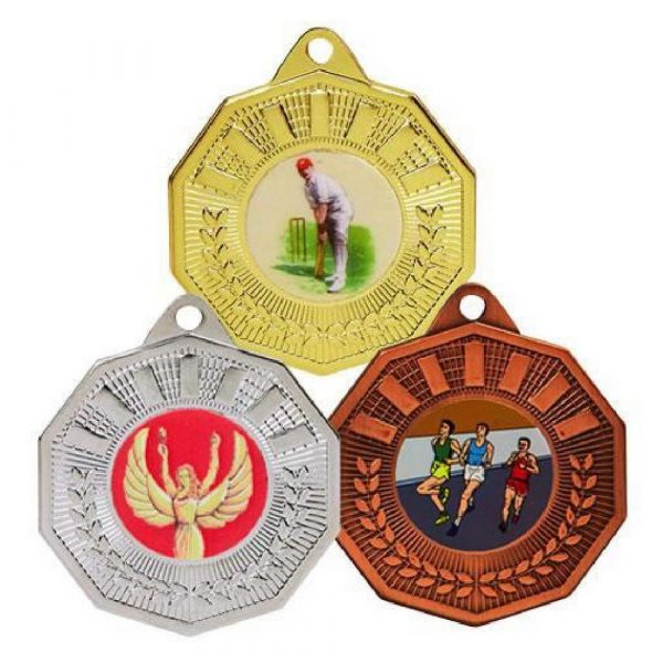 50mm Decagon Sports Medal
