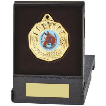50mm Decagon Medal in Case