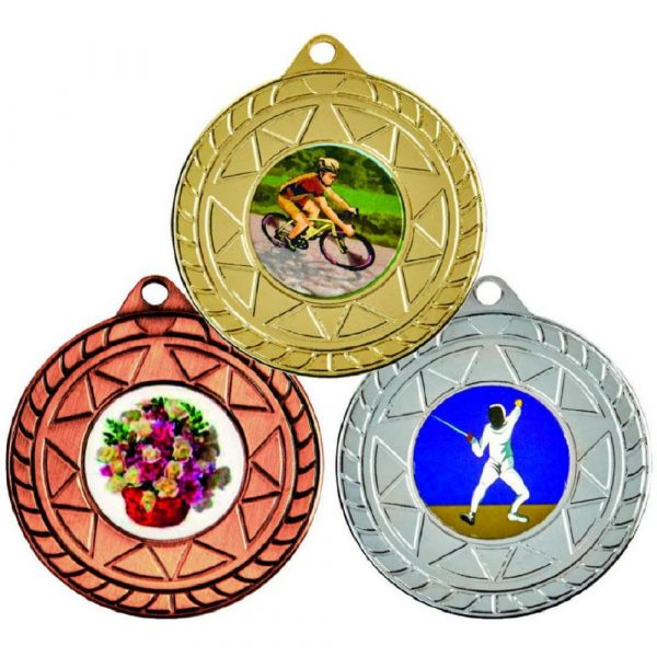 """50mm """"Star"""" Sports Medals"""