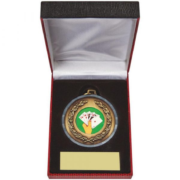 50mm Medal in Case