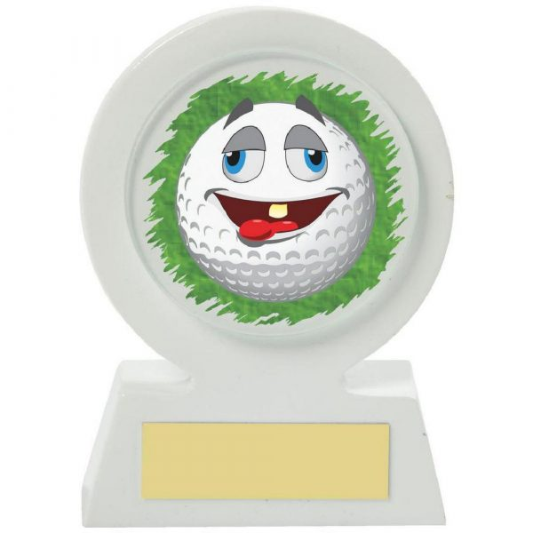 White Resin Golf Collectable - Chilled