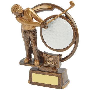 The Hacker - Novelty Golf Trophy