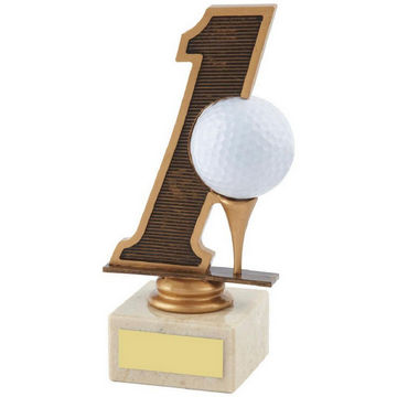Hole in One Golf Trophy