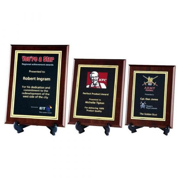 Presentation Corporate Plaque with Colour Print