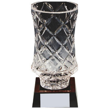 Lead Crystal Vase Award