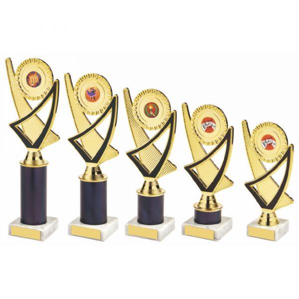 Gold/Black Tube Trophy