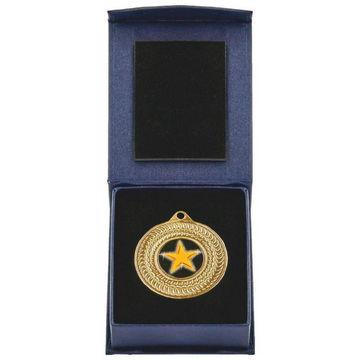 50mm Gold Medal in Case