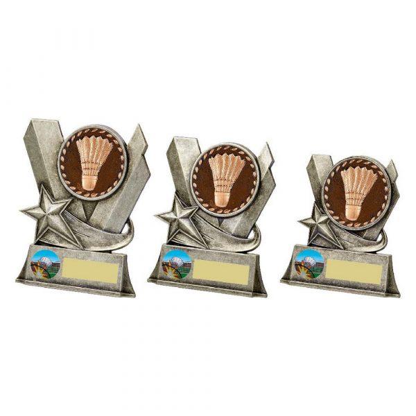 Badminton Metal Stand Award