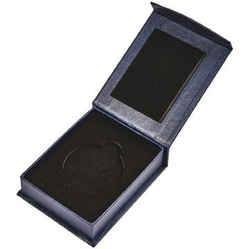 Blue Medal Case with Magnetic Fastening (45mm Medals)