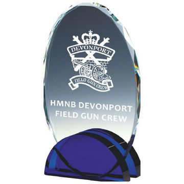 Glass Oval Award