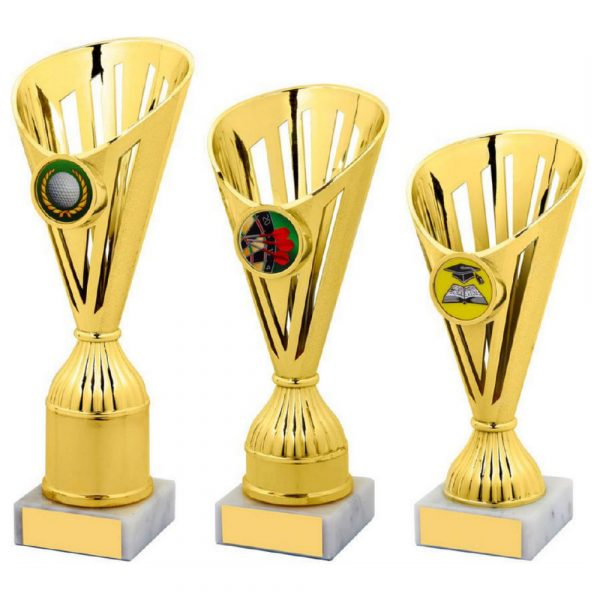 Gold Sculpture Cup